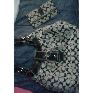 *^*Authentic*^* Coach bag & wallet